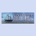 Nantucket Blue Sign