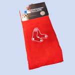 Embroidered Red Sox Golf Towel