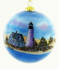 Sandy Neck Cape Cod Ball Ornament