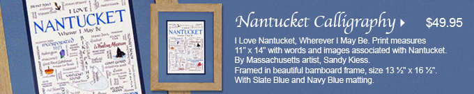 Nantucket Calligraphy