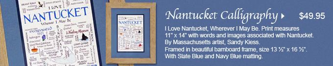 Nantucket Calligraphy