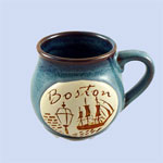Boston Pot Belly Mug