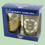 Boston Bruins 24 oz Tumbler 2 pack
