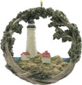 Boston Light House Ornament