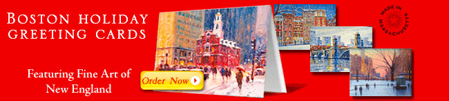 New England Holiday Cards