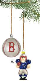Red Sox Ornament