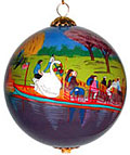 Swanboat Ornament
