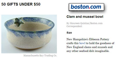 Clam and mussel bowl