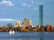 Boston from the Charles River by David Jacobs