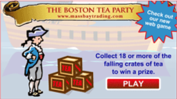 Boston Tea Party Game