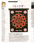 Red Sox Darts