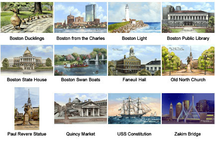 Optional images for Boston Glass Photoframe