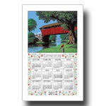 2012 Country Bridge Calendar Towel