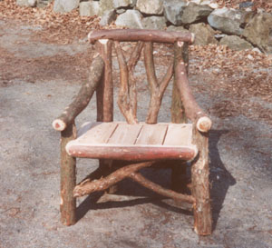 Rustic Outdoor Chair Massachusetts Bay Trading Company