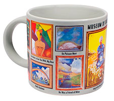 side view of MOBA mug