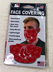 Red Sox face mask