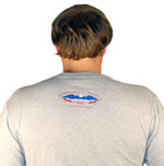 Boston Lobster T Shirt Back