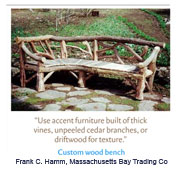 Rustic Furniture by Frank Hamm