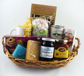 New England Gift Basket: Massachusetts Bay Trading Company