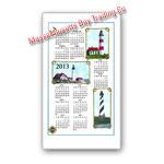 2013 Lighthouse Calendar Towel