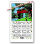 2013 Country Bridge Calendar Towel