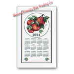 2014 Apple Calendar Towel