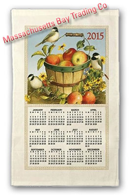 2015 Apple Calendar Towel