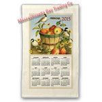 2015 Apple Calendar Towel
