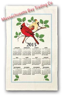 2015 Cardinals Calendar Towel