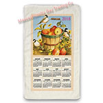 2018 Apple Basket Calendar Towel