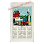 2019 Nautical Scenic Calendar Towel