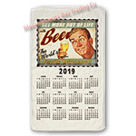 2019 American Beer Calendar Towel