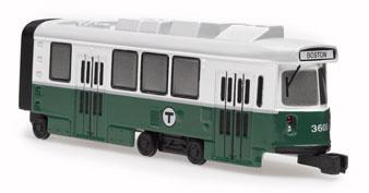 MBTA Green Line Trolley Car