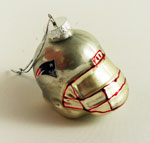 New England Patriots Helmet Ornament