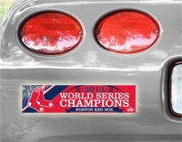 Red Sox 2013 World Series Champions Bumper Sticker
