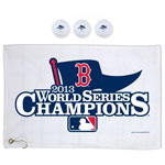 Boston Red Sox 2013 World Series Champions Golf Gift Set