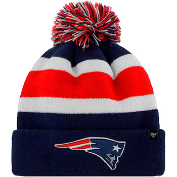 New England Patriots Knit Hat Massachusetts Bay Trading Company